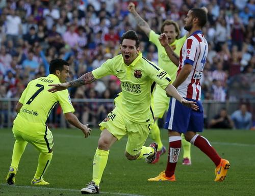 Messi lập công với bàn thắng duy nhất trong trận