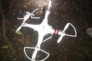 Máy bay không người lái được phát hiện. Ảnh: NY Post