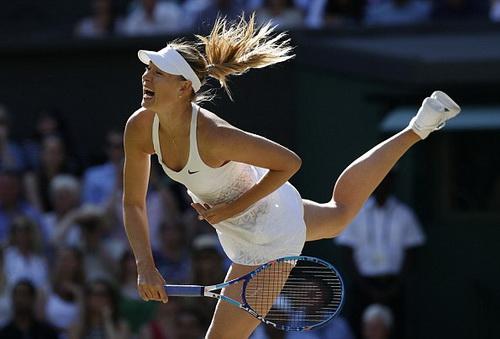 Sharapova thất bại ở bán kết Wimbledon 2015