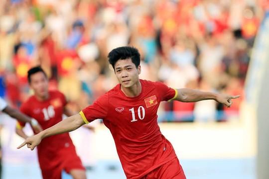 Công Phượng (ảnh) cùng với Tuấn Anh và Xuân Trường được HLV Hữu Thắng gọi về tập huấn trước mùa giải AFF CUP