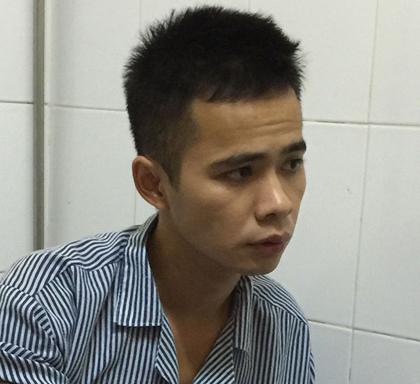 Bế Ích Thi, nghi phạm vụ làm chết người rồi chặt xác phi tang ở Cao Bằng sau khi bị bắt giữ tại cơ quan công an - Ảnh: CAND