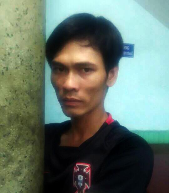 Đối tượng Phạm Minh Quý tại cơ quan chức năng.
