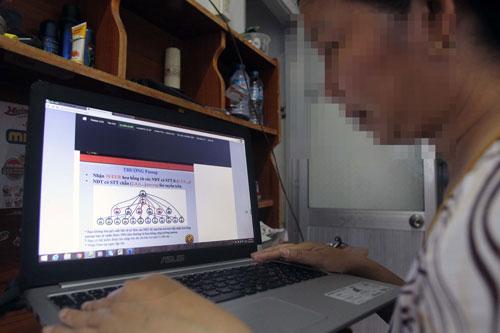 Huy động vốn đa cấp đang tràn lan trên mạng Ảnh: Hoàng Triều