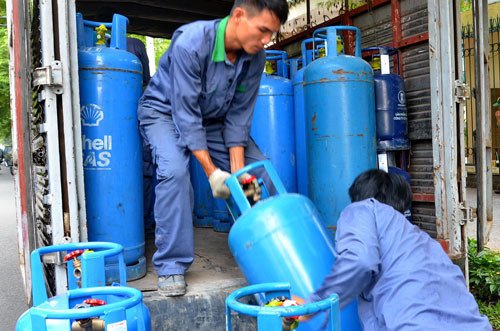 Nhu cầu sử dụng gas cả nước năm 2017 sẽ tăng 8% so với năm 2016 Ảnh: Tấn Thạnh