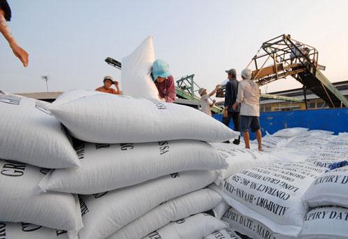 Gạo Việt ngày càng yếu thế trên thương trường Ảnh: Ngọc Trinh