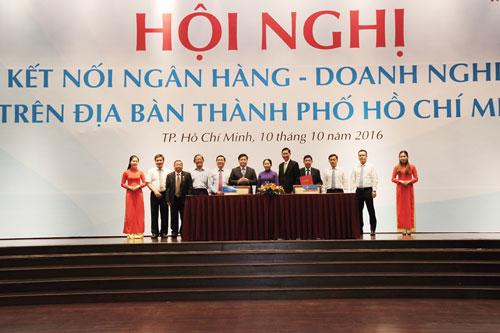 VietinBank ký kết hợp tác với Hiệp hội Doanh nghiệp TP HCM Ảnh: HOÀNG THÀNH AN