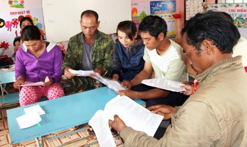 Phụ huynh làm đơn phản ánh về việc hiệu trưởng Trường Mẫu giáo Lộc Tân thu tiền nhiều