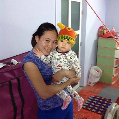 """""""Nữ hoàng điền kinh"""" Trương Thanh Hằng hài lòng với cuộc sống gia đình cũng như đang làm quen công việc tìm kiếm tài năng mới cho điền kinh Việt Nam"""