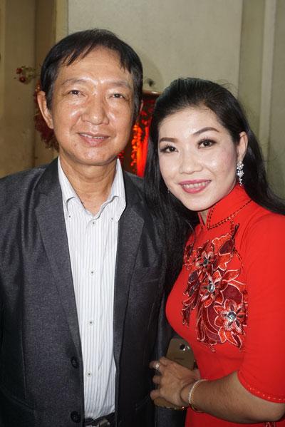 NSND Ngân Vương và con gái Tuyết Nhung