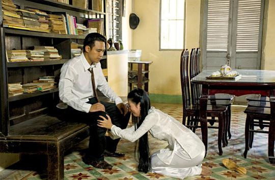 Cảnh trong  Hai người vợ