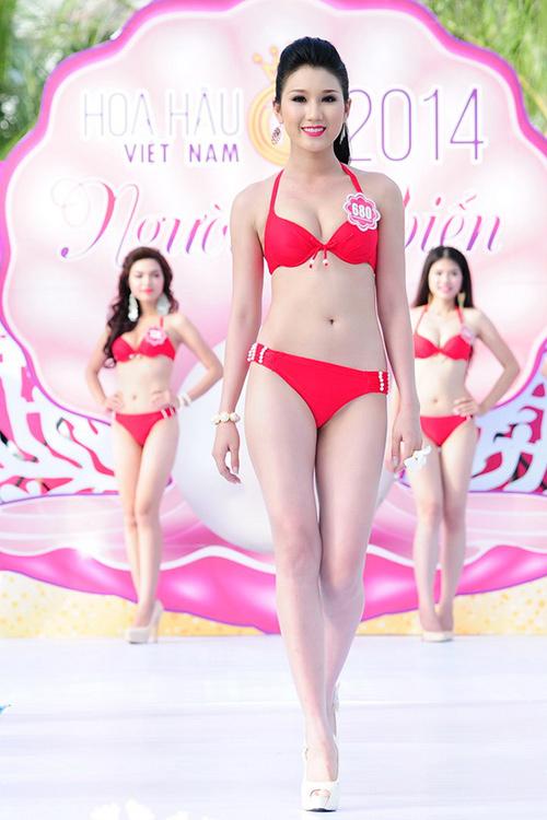 Bảo Như tại cuộc thi Hoa hậu Việt Nam 2014