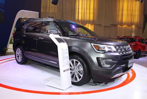 Ford ra mắt Explorer hoàn toàn mới