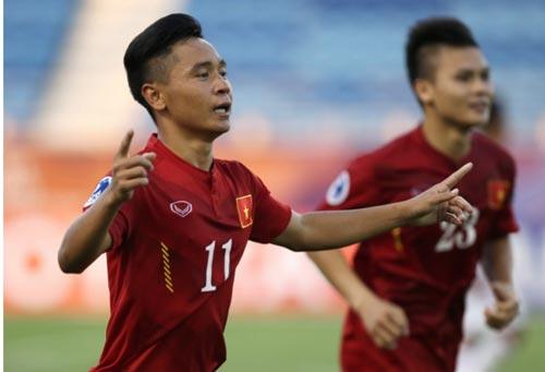 Minh Dĩ (11), một bất ngờ của U19 Việt Nam tại giải châu Á Ảnh: AFC