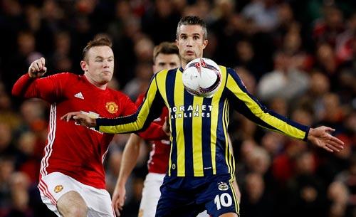 Rooney nhiều khả năng đá chính khi M.U làm khách trước Fenerbahce Ảnh: REUTERS