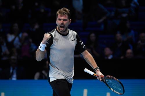 Wawrinka phải thắng đậm Murray mới vào bán kết Ảnh: REUTERS