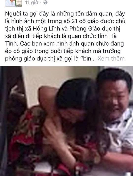 Thông tin sai sự thật đăng trên trang Facebook có tên Nguyễn Liên