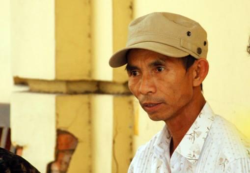 Bị cáo Nguyễn Văn Minh trước giờ diễn ra phiên tòa xử phúc thẩm