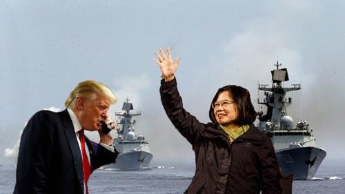 Tổng thống Mỹ đắc cử Donald Trump gây tranh cãi khi nhận cuộc gọi của nhà lãnh đạo Đài Loan Thái Anh Văn Ảnh: NEW DAILY