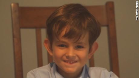 Cậu bé Alex... Ảnh: CNN