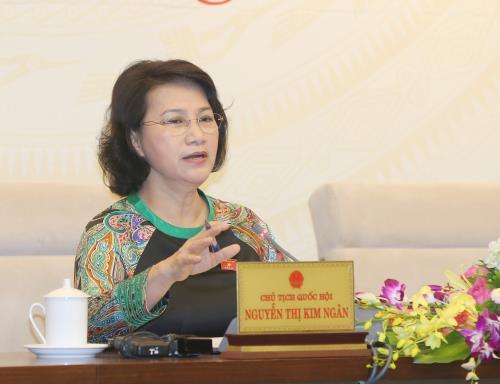 Chủ tịch QH Nguyễn Thị Kim Ngân: Thứ trưởng cứ về hưu là xin thành lập hội, rồi xin nhà, xin xe