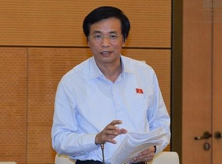 Tổng thư ký QH Nguyễn Hạnh Phúc: Chất vấn và trả lời chất vấn tránh dài dòng, tập trung vào nội dung chính, đi thẳng vào vấn đề - Ảnh: Quochoi.vn