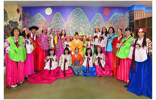 Đoàn khách của VietJetours tại Hàn Quốc