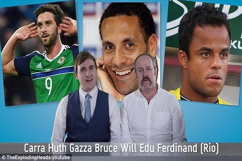 Gascoigne, Rio Ferdinand, Edu...