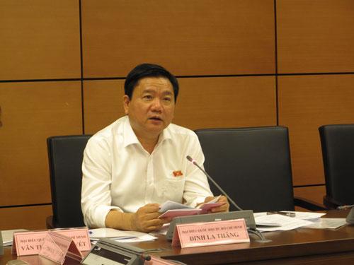 Bí Thư Thành ủy TP HCM Đinh La Thăng đề nghị chỉ giảm 2% ngân sách TP được giữ lại
