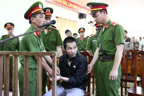 Bị cáo Kiều Quốc Huy tại phiên tòa