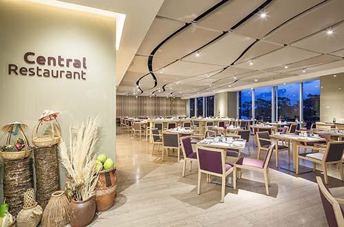 Nhà hàng Central - khách sạn Liberty Central Saigon Riverside