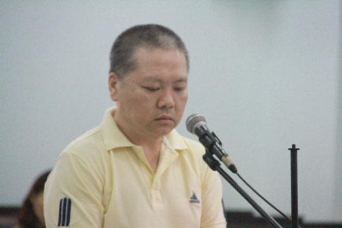 Bị cáo Yang Qing tại phiên tòa