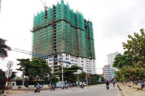 Dự án Mường Thanh Viễn Triều đang xây dựng ở phía Bắc TP Nha Trang