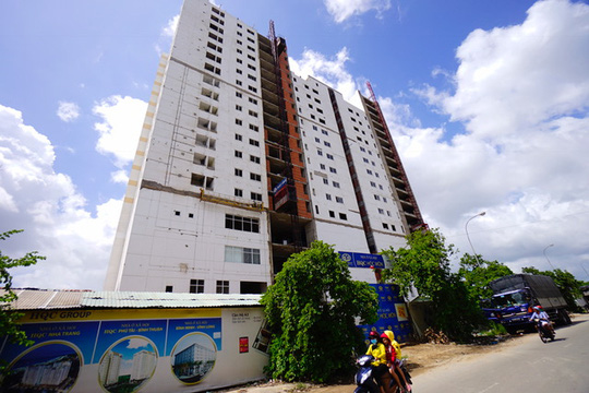 Một dự án nhà ở xã hội tại huyện Hóc Môn, TP HCM được đưa vào sử dụng