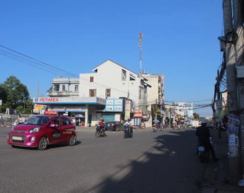 Đường Phạm Văn Thuận ở trung tâm TP Biên Hòa