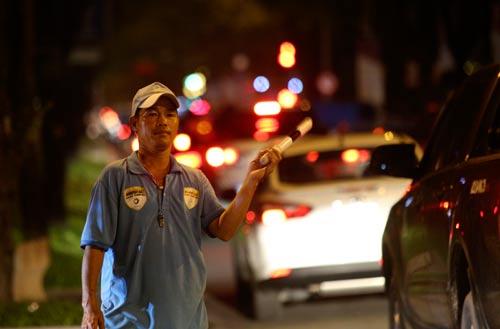 Ông Nguyễn Văn Linh tham gia điều tiết giao thông ở TP HCM đã 11 năm nay