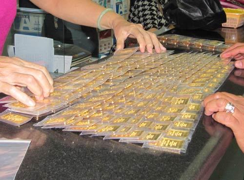 TP HCM kiến nghị Ngân hàng Nhà nước nghiên cứu lập sàn vàng vật chất
