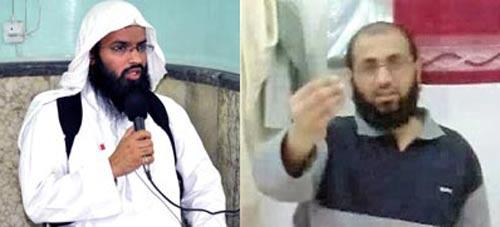 Turki al-Binali (trái) và Abu Luqman Ảnh: AP
