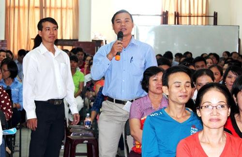 Hội nghị người lao động tại Công ty TNHH Xuyên Thái Bình