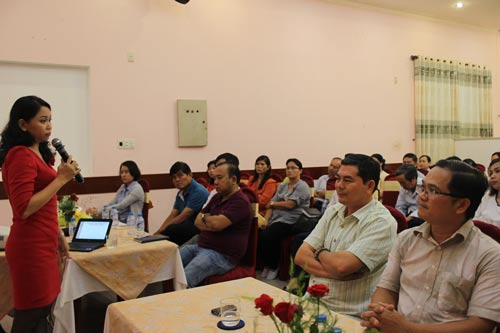 TS Nguyễn Ngọc Quỳnh Dao, Trưởng Khoa Tâm lý Trường ĐH Sài Gòn, trao đổi về văn hóa doanh nghiệp