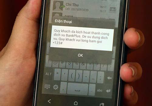 Với BankPlus, người dùng có thể chuyển tiền mặt tới bất cứ nơi đâu tại Việt Nam chỉ trong 1 giờẢnh: Nguyễn Lê