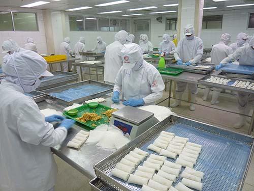 Sản phẩm Cầu Tre được chế biến trong điều kiện tiệt trùng