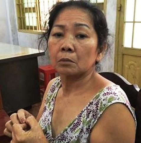 Nghi can Hồ Thị Ngọc Điệp tỏ ra ân hận khi khai nhận hành vi với cơ quan điều tra