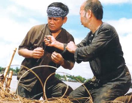 NS Lê Vũ Cầu trong bộ phim Ông cá Hô