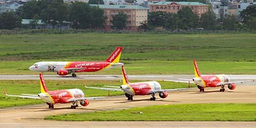 Vietjet đang khai thác khoảng 350 chuyến bay mỗi ngàyẢnh: PHƯƠNG Anh
