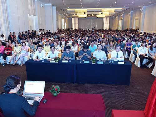 Lượng khách đến tham dự sự kiện công bố đợt 1 dự án Saigon South Residences được cho là đông nhất từ trước đến nay trong các đơt giới thiệu sản phẩm của chủ đầu tư