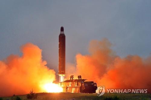 Triều Tiên tiến hành 8 vụ thử tên lửa Musudan kể từ ngày 15-4 nhưng chỉ thành công 1 lần. Ảnh: Yonhap
