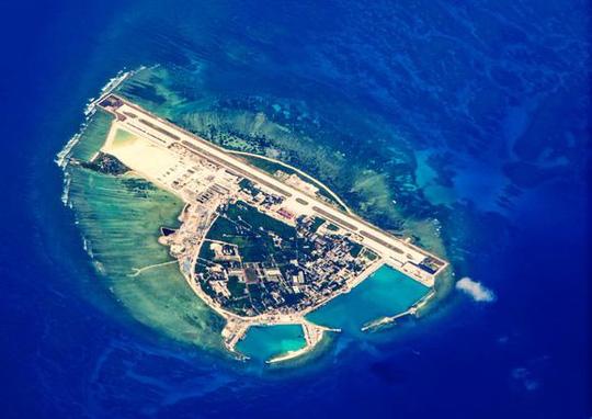 Đảo Phú Lâm - Ảnh: KYODO