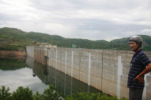 Thủy điện ở Quảng Nam vẫn chưa tích đủ nước Ảnh: Trần Thường