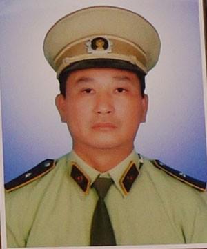 Anh Nguyễn Kim Danh, cán bộ QLTT đội 1 bị nhóm buôn lậu đánh chết khi đang làm nhiệm vụ