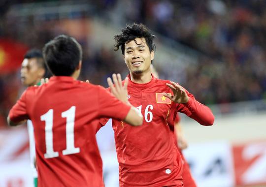 Tuyển Việt Nam tự tin bước vào giải đấu bằng trận giao hữu thắng Indonesia 3-2 trên sân nhà